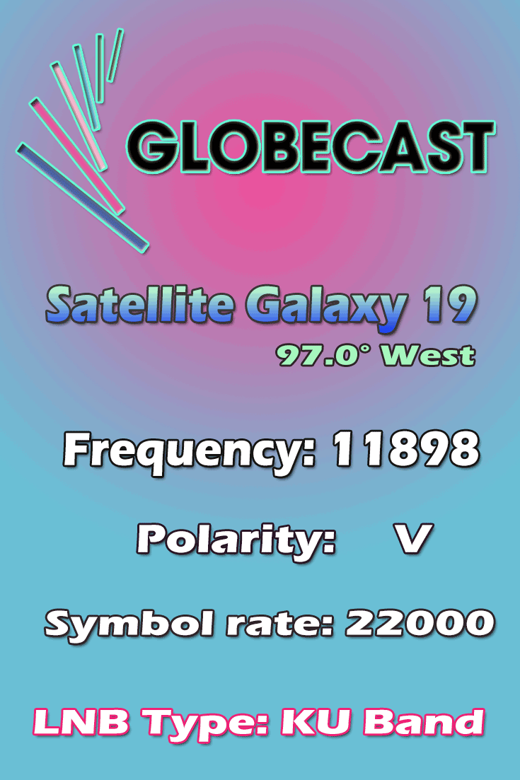 Globecast-Frequency